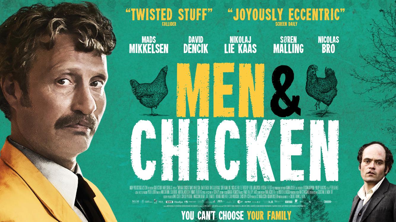 Win a copy of MEN & CHICKEN on DVD