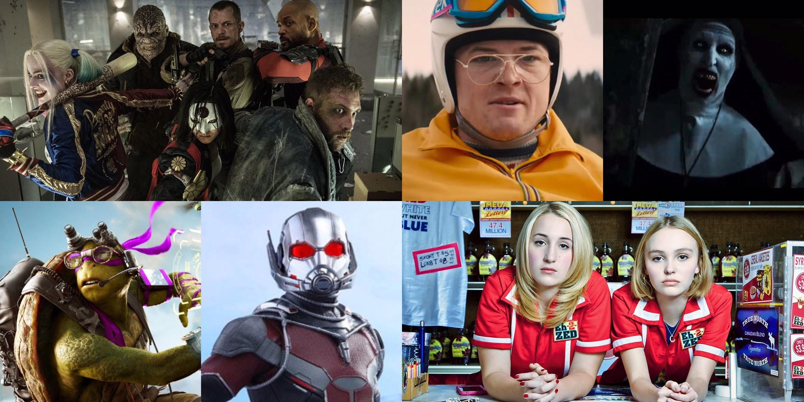 EP 123 - Films of 2016 w/ Mass Moviecide UK (Deadpool, The Conjuring 2 & Suicide Squad)